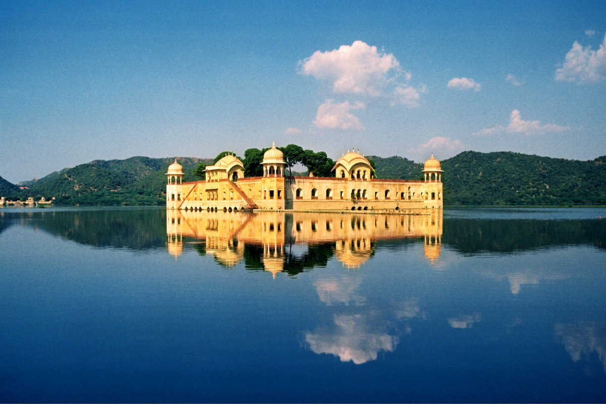 Jaipur - Jalmahal India Wellness tour with J&H travel & tours escorted luxury travel