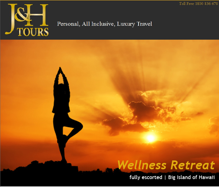 Wellness Yoga Retreat Hawaii with J&H Travel & Tours