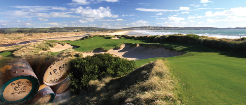 Barnbougle golf course Tasmania Golf and Whiskey J&H luxury escorted travel